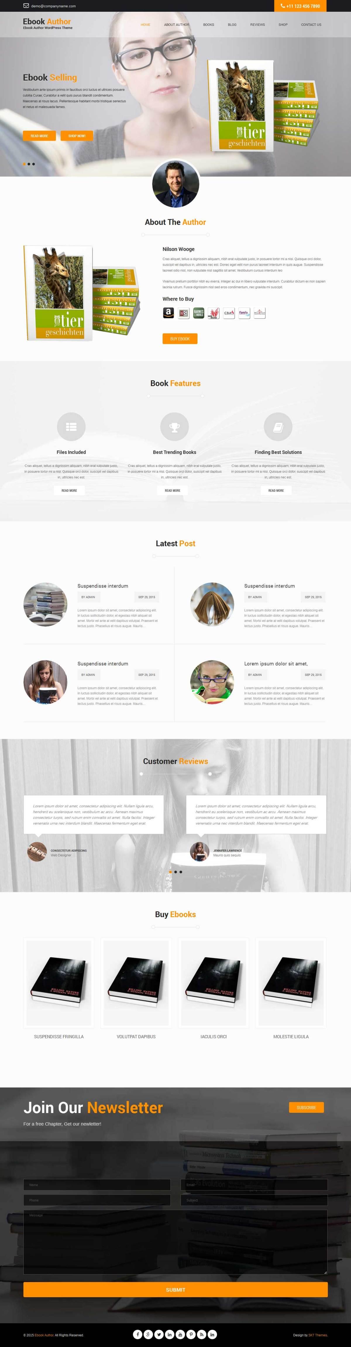Launch pro WordPress theme