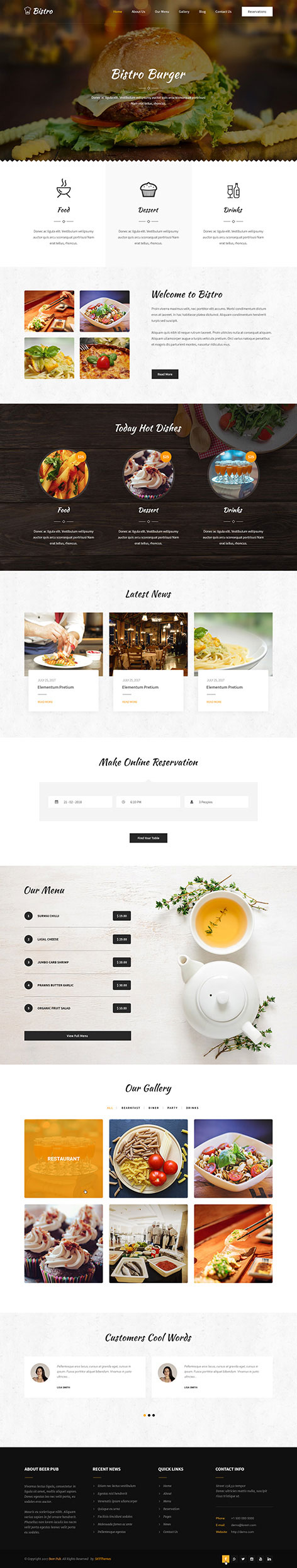 zaika WordPress theme