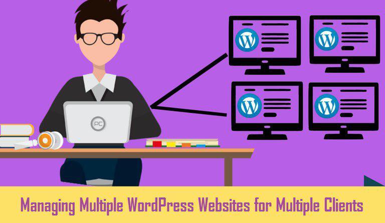 managing multiple WordPress websites