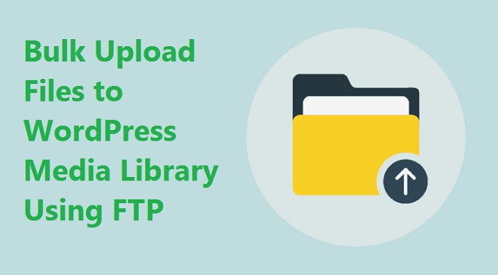 Bulk Upload Files to WordPress Media Library Using FTP