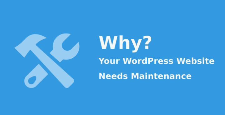WordPress website needs maintenance
