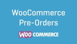 WooCommerce-Pre-Orders