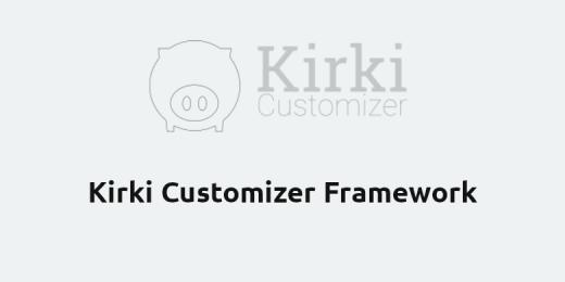 Kirki Customizer Framework