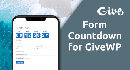 Form Countdown For Givewp