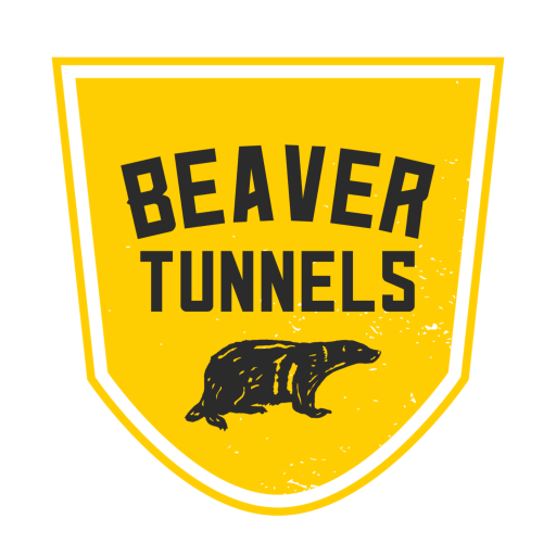 Beaver tunnels 50
