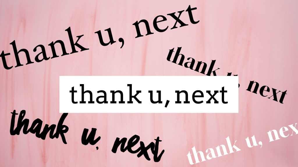 thank u next yt