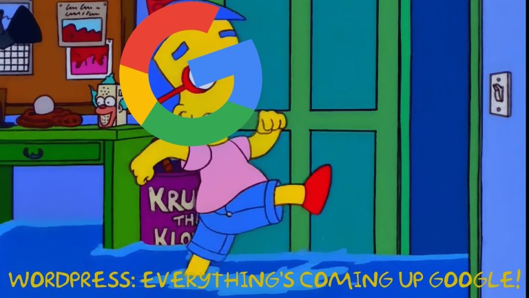 everything coming up google