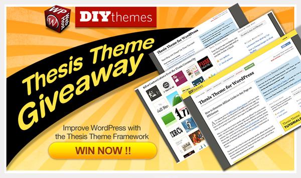 Thesis Theme by WordPress Hosting