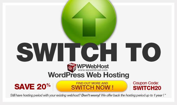 Switch Program WordPress Hosting
