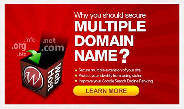 Secure domain name by WordPress Hosting