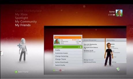 Add a Xbox Live Friend