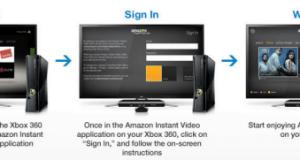 Amazon Prime Instant Videos on Xbox