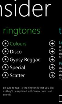 Free Ringtones for Windows Phone