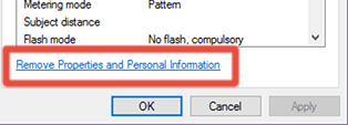 Remove Personal Information from Pictures