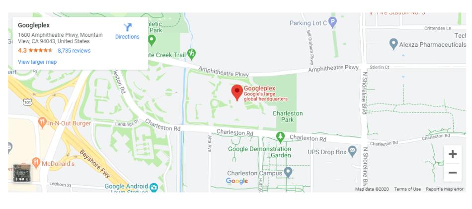 Google map module