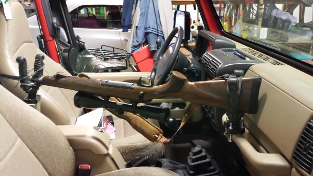 rifle rack for tj jeep wrangler forum