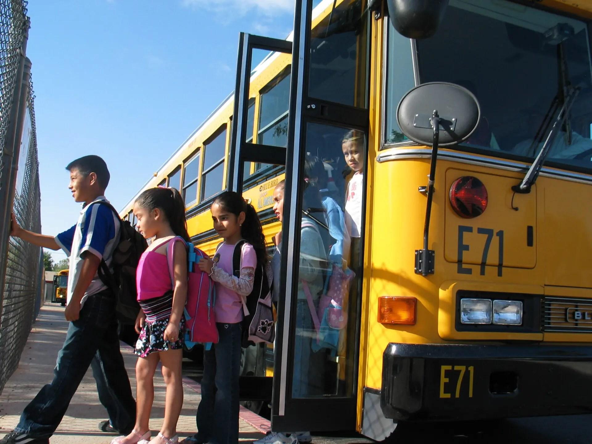 Tempe Elementary Kyrene Among Top Scorers For School Bus