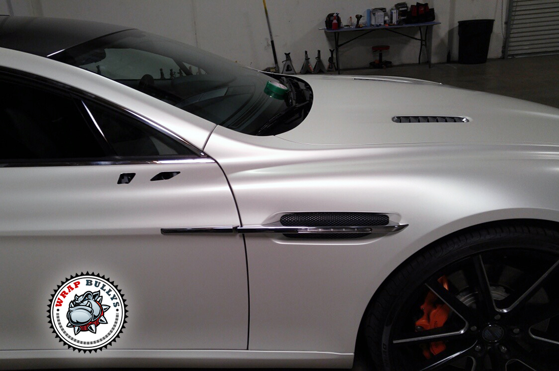 Custom Satin Wraps. We carry all types of Matte, Satin, and Gloss Colors.