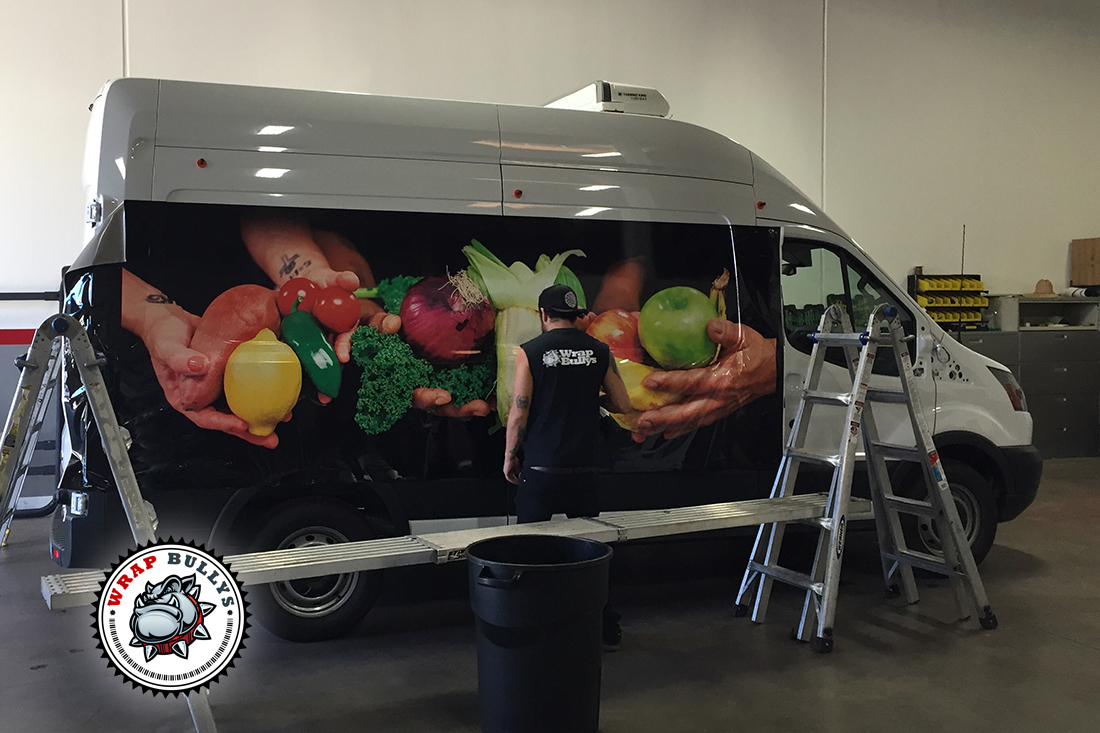 Custom Van Wraps. Design, Print, Install. Call for Pricing