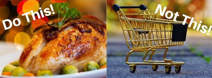 Thanksgiving vs shopping