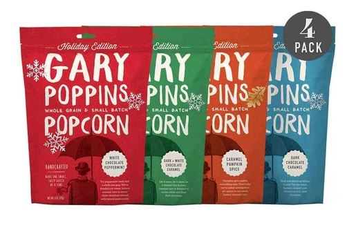 Gary Poppins Popcorn Holiday Collection