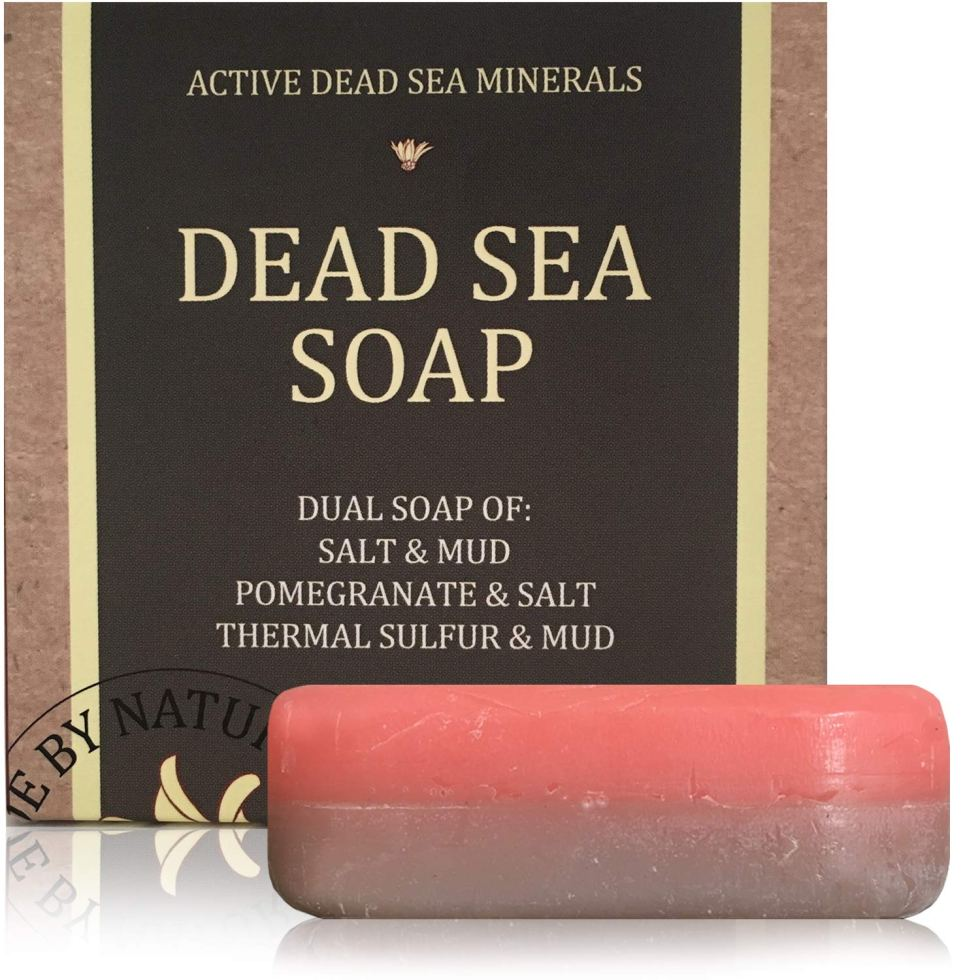 Dead Sea Salt & Mud Natural Soap gift