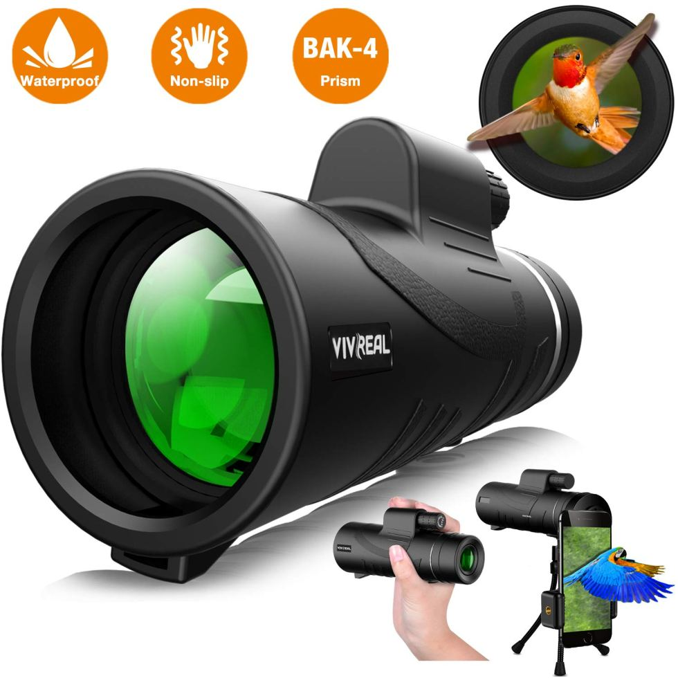 Monocular Telescope For Birding