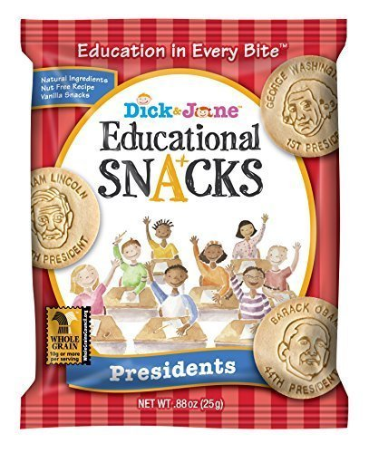 These Presidents Educational Snacks will give your politics-loving friends a good laugh