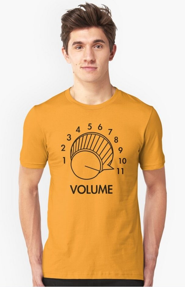 Volume Upto 11 T-Shirt