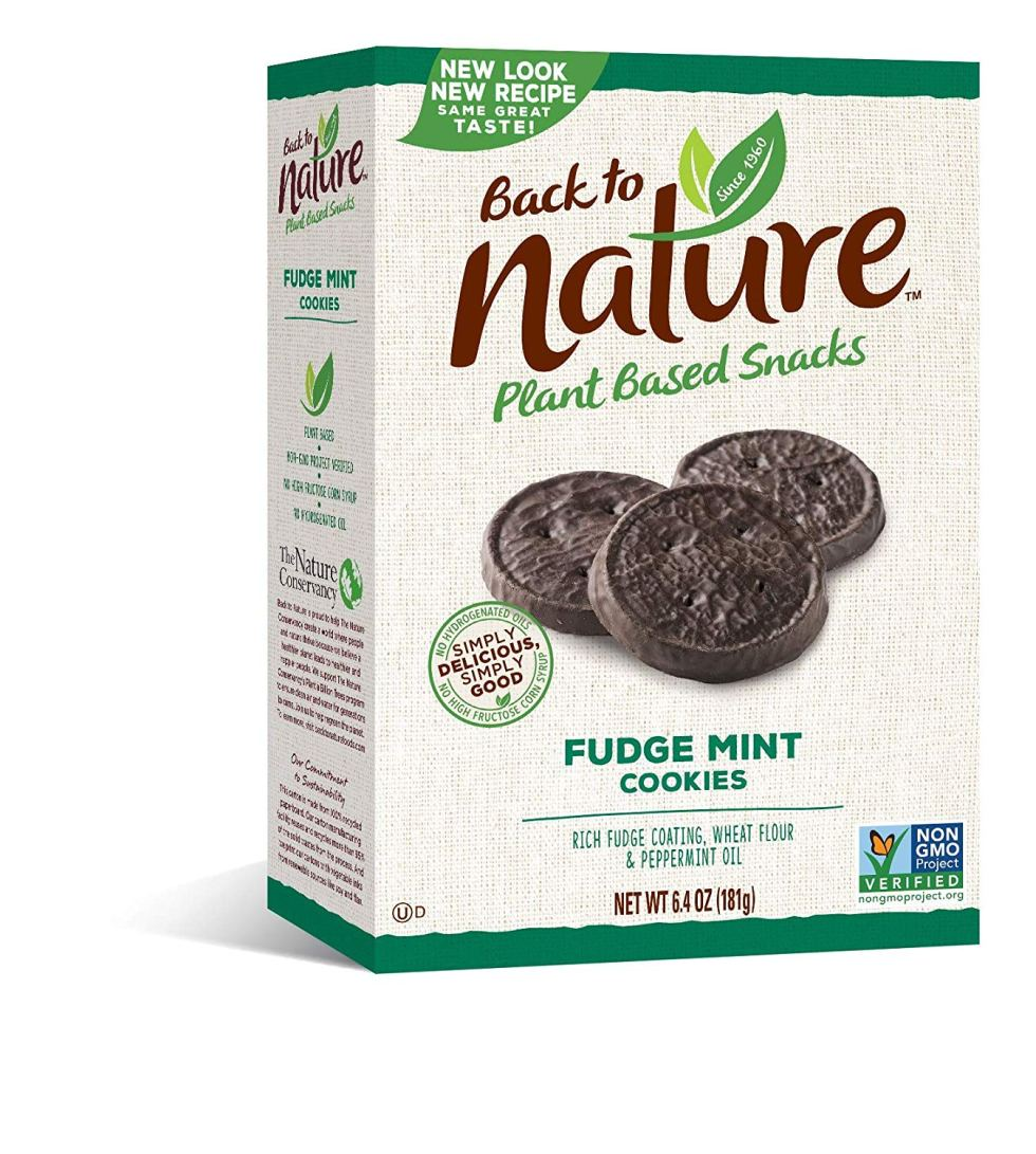 Healthy Thin Mint Cookies