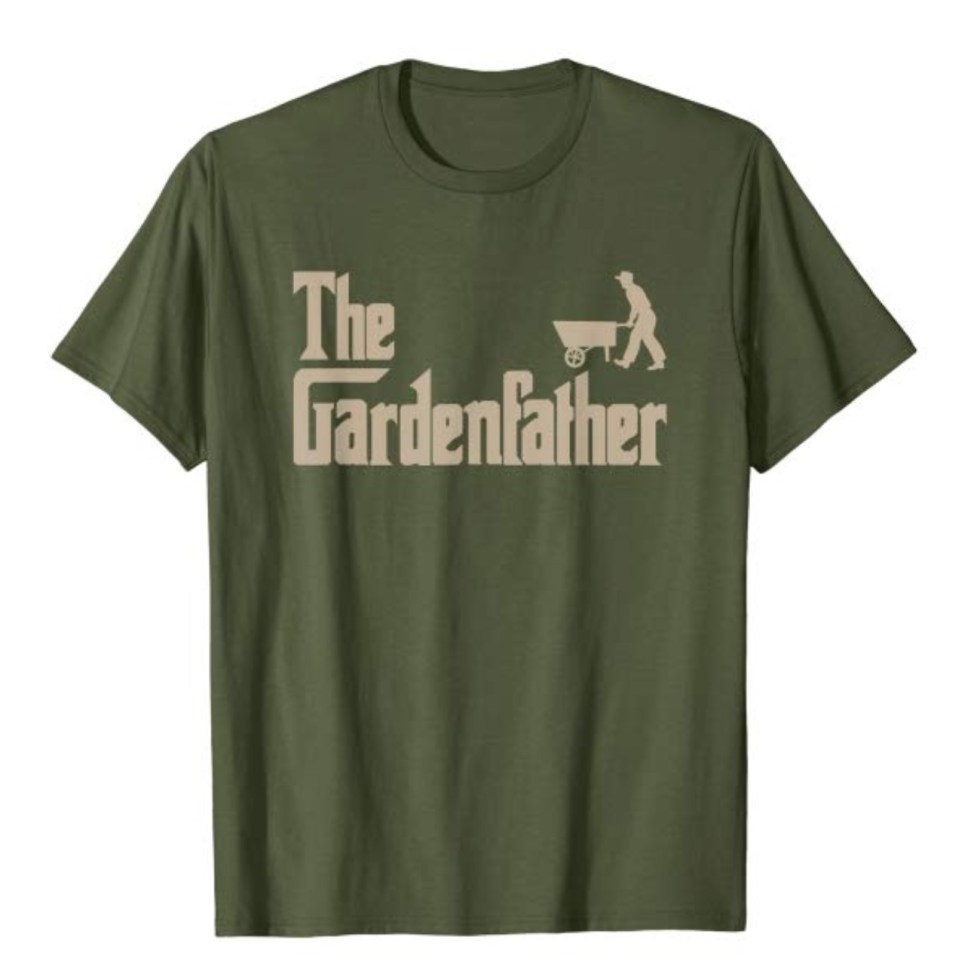 The Gardenfather T shirts for plant lovers