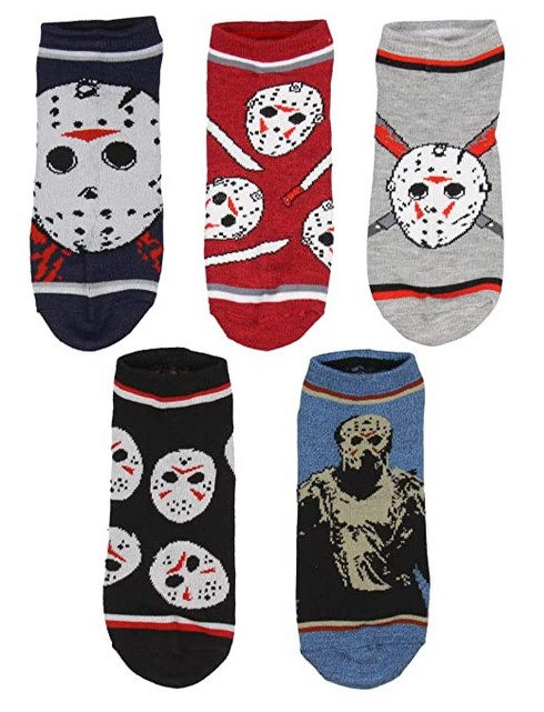 Friday the 13th Jason Voorhees Ankle Socks
