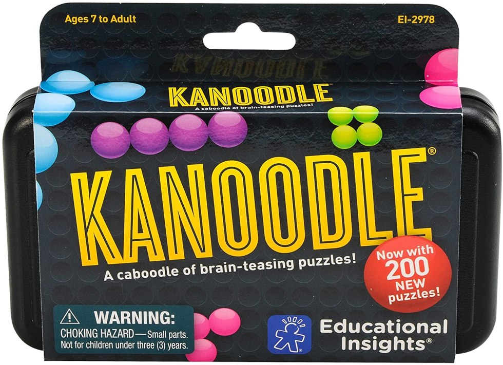 Kanoodle brain teaser games for gifts