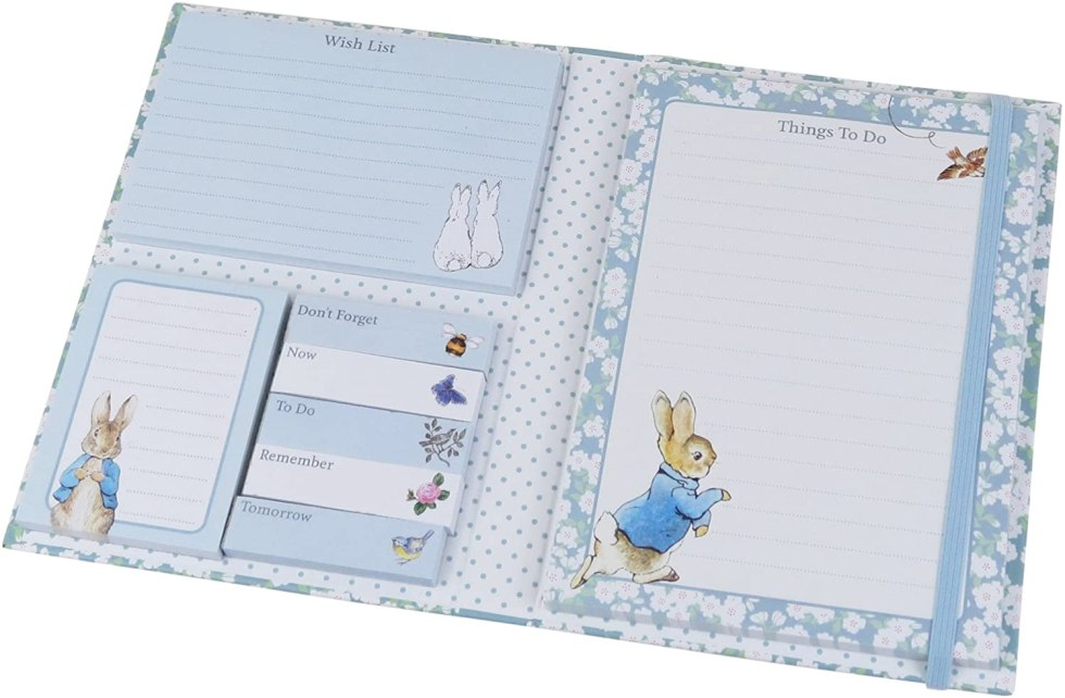 Peter Rabbit gifts notepads