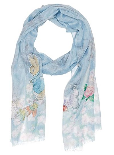 Peter Rabbit gifts scarf