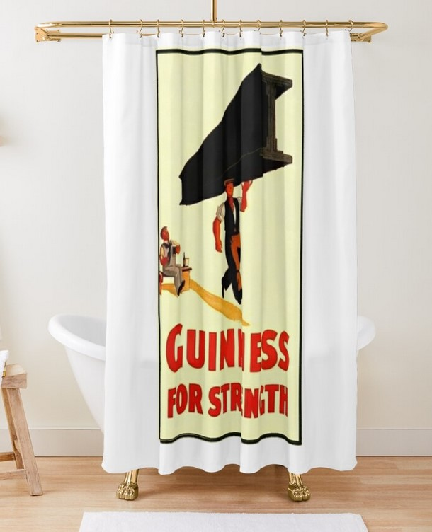 Shower Curtain for Guinness gifts