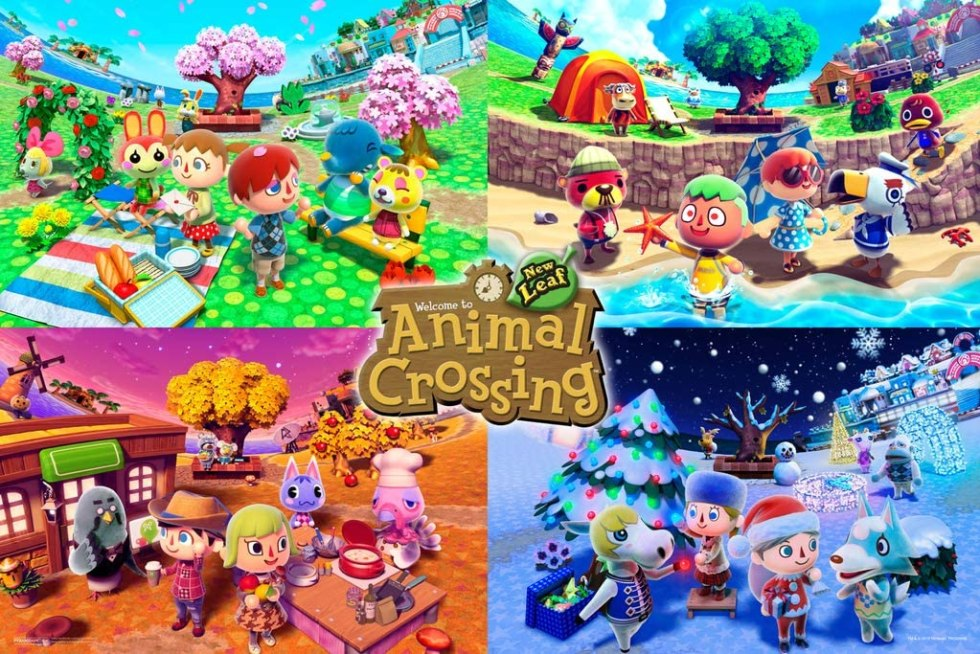 Animal Crossing gifts poster