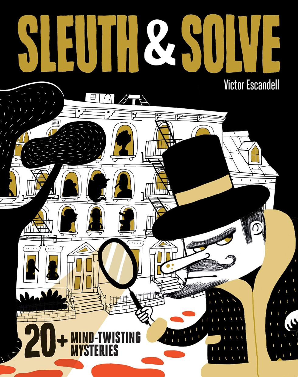 Sleuth and Solve mystery puzzles for gifts