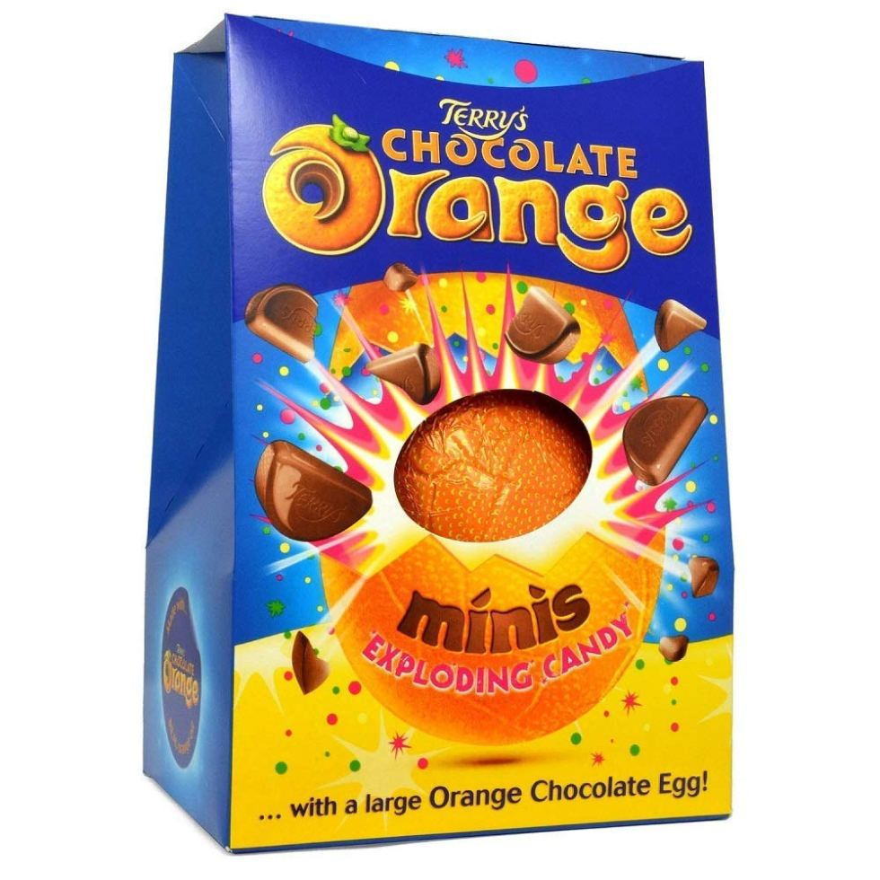 Terrys Chocolate Organge Easter egg gifts