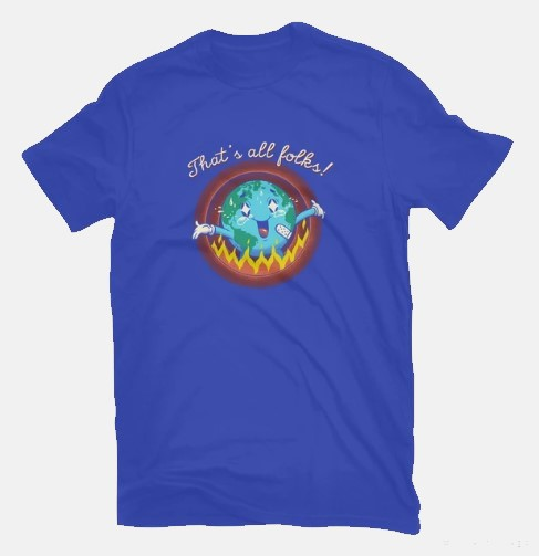 Thats All Folks Tshirt Earth Day gifts