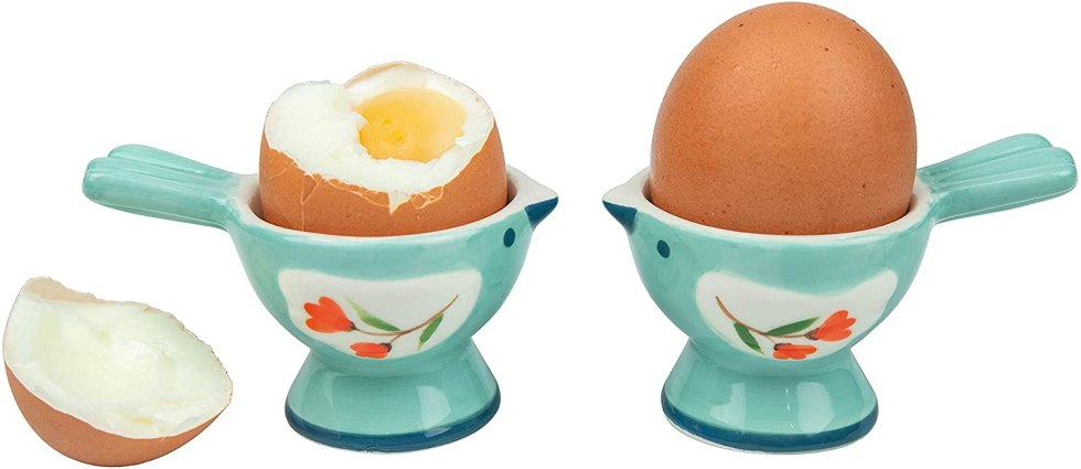 Bird egg cups for egg gifts
