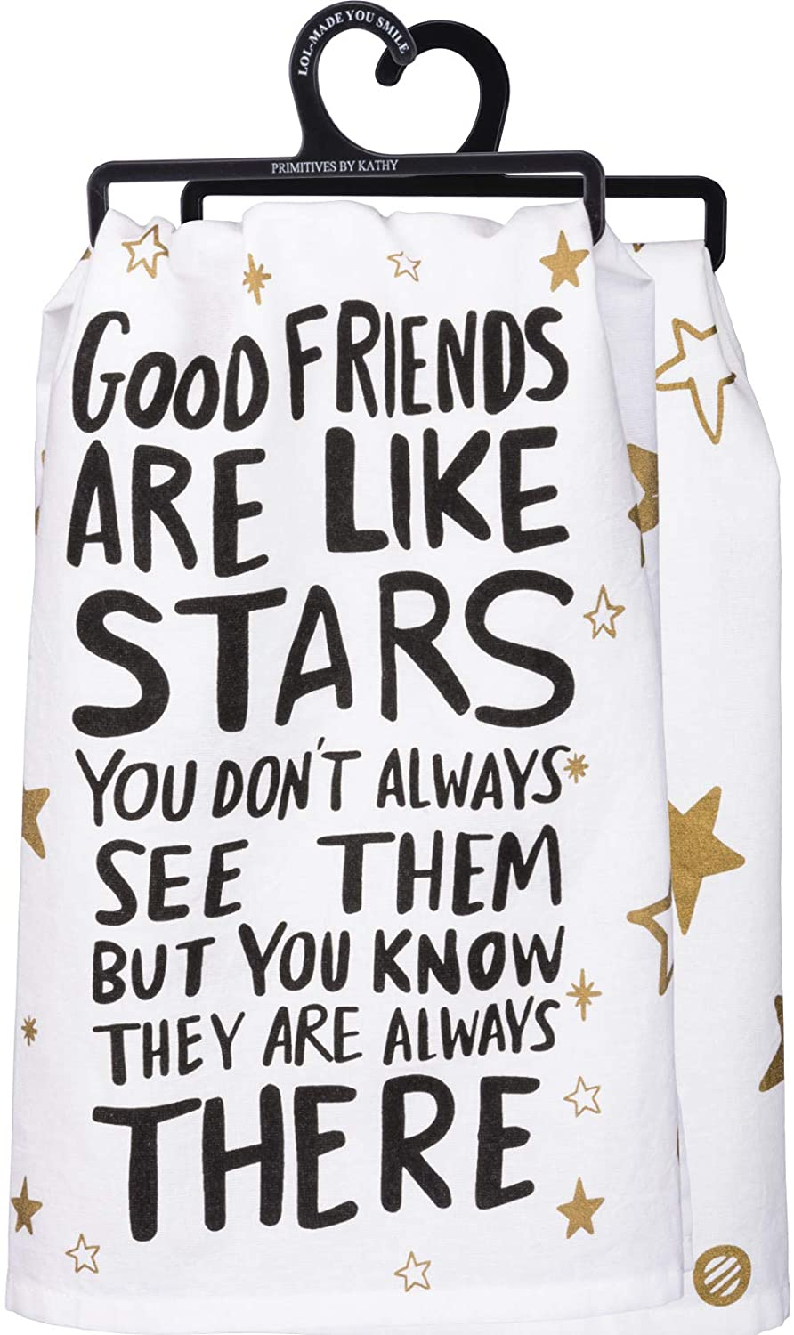 Good friend dish towel for gifts