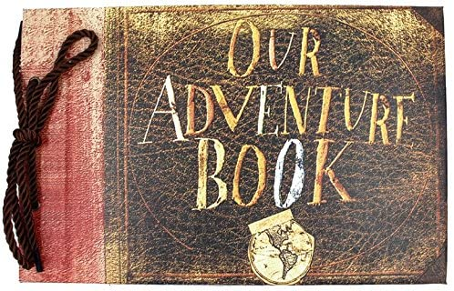 Our Adventure Book scarpbook anniversary gift