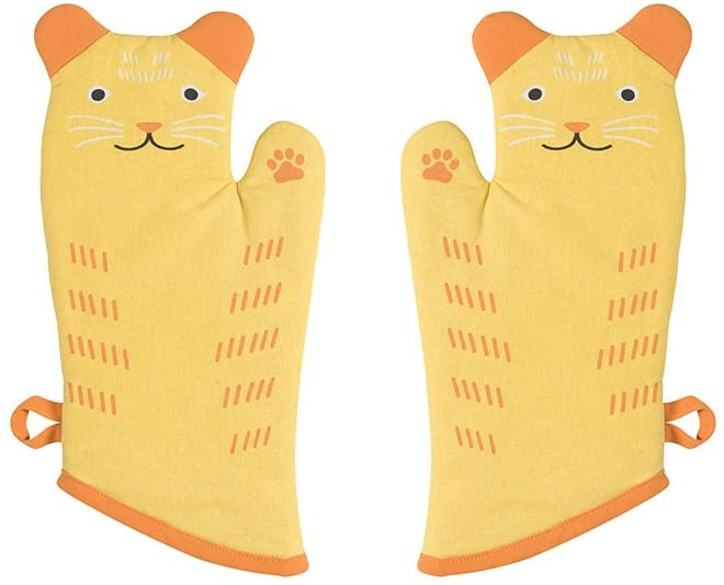 cats oven mitt for gifts