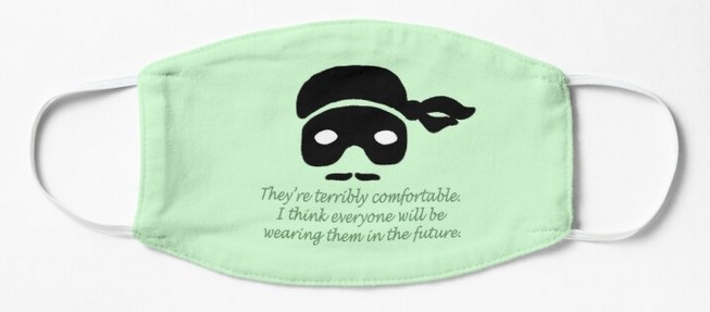 Dread Pirate Roberts mask gifts
