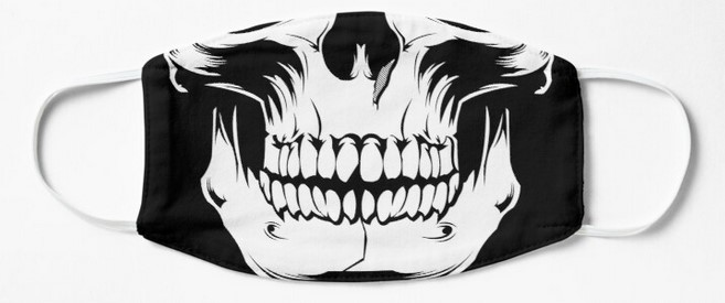 skull mask pirate gifts