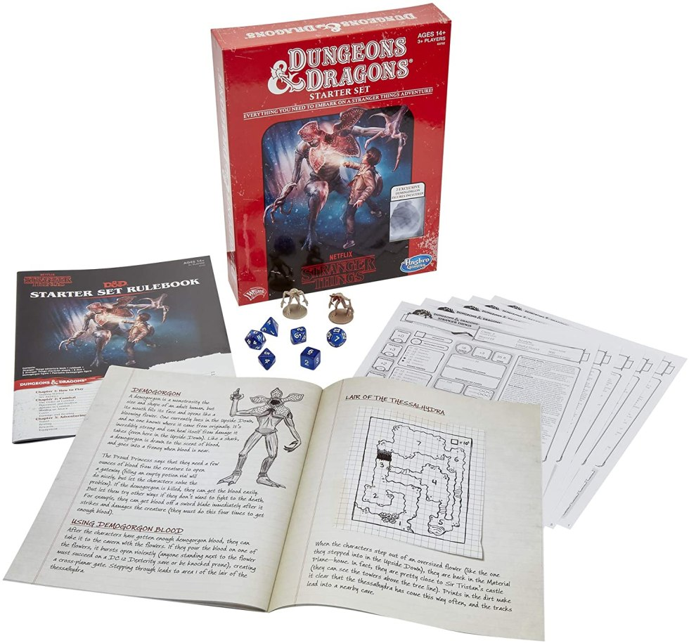 Stranger Things Dungeons & Dragons game