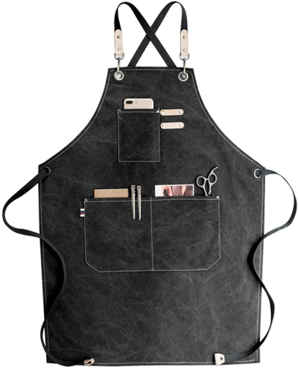 Stylish pockets apron