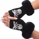 Fun fingerless gloves