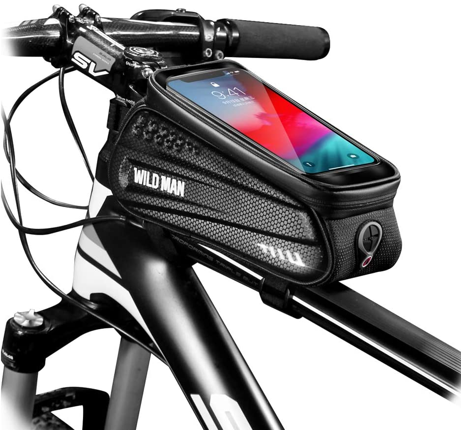 bicycle gifts bag and phone mount